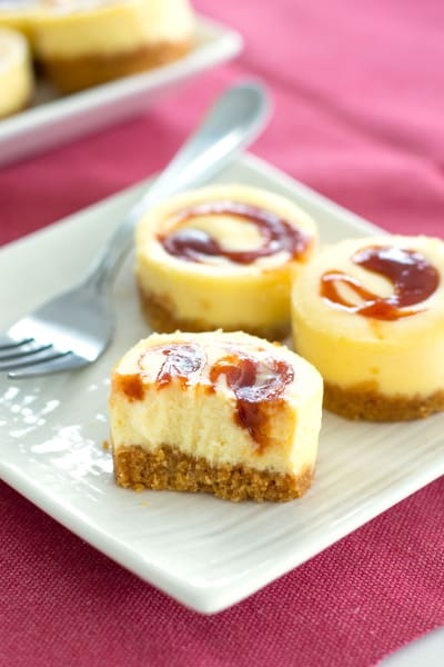 Mini Guava Cheesecakes Image