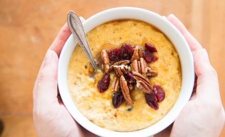 Cranberry Pumpkin Oatmeal Recipe