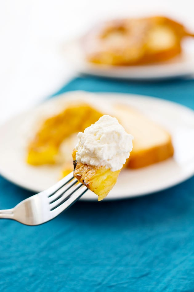Grilled Pineapple with Mascarpone Whipped Cream Pic