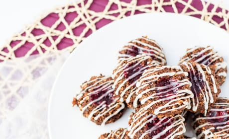 Healthy Thumbprint Cookies Picture