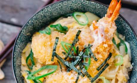 Ebi Katsu Don Recipe