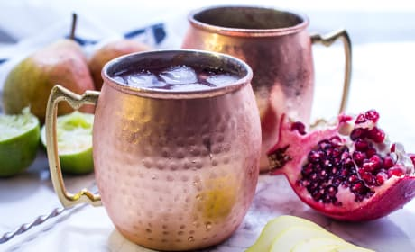 Pear Pomegranate Mule Recipe