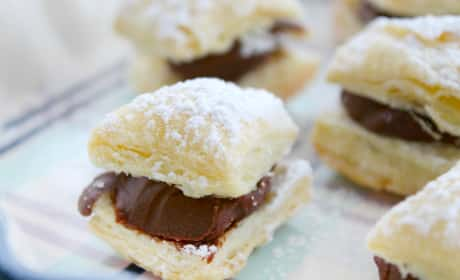 Miguelitos with Chocolate Recipe