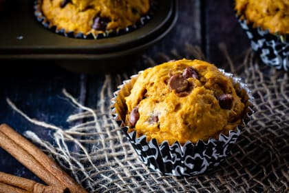 Chocolate Chip Pumpkin Muffins Recipe
