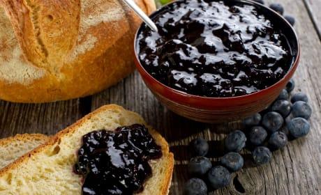 Blueberry jam image