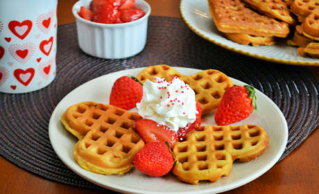 Strawberry Waffles Recipe