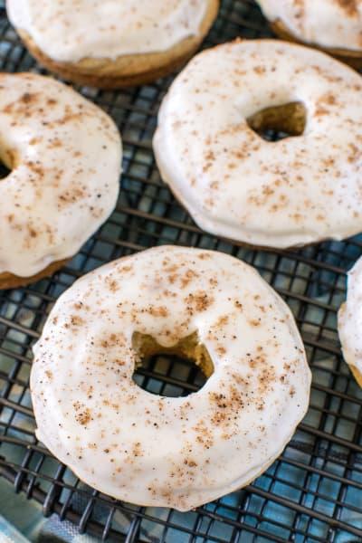Eggnog Donuts Image