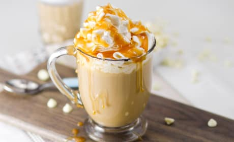 Boozy White Chocolate Milky Way Mocha Photo