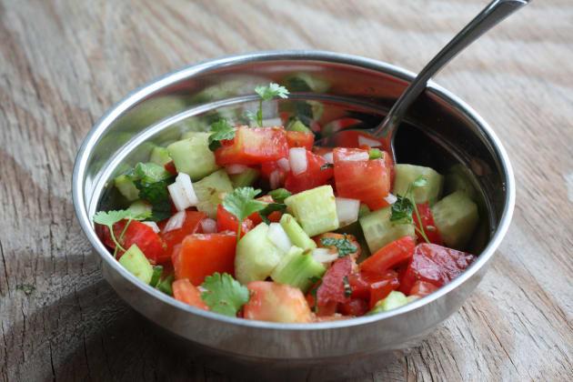 Cucumber Tomato Salad Picture