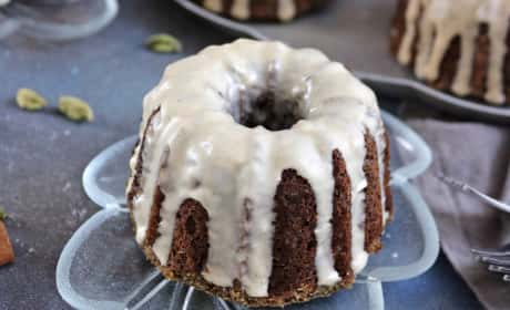 Buckwheat Banana Mini Bundt Cakes Recipe