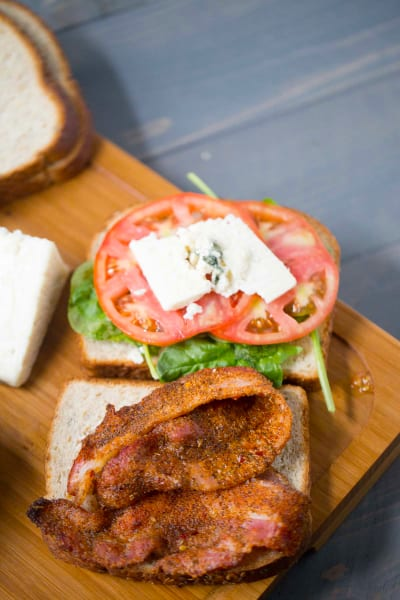 BBQ Blue Cheese BLT Pic