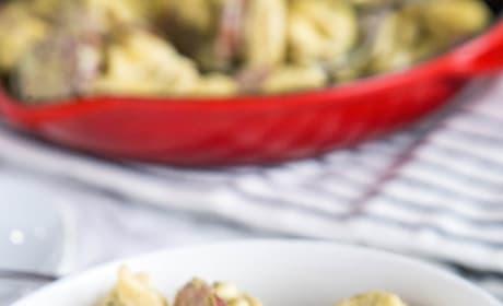 Creamy Pesto Tortellini Picture