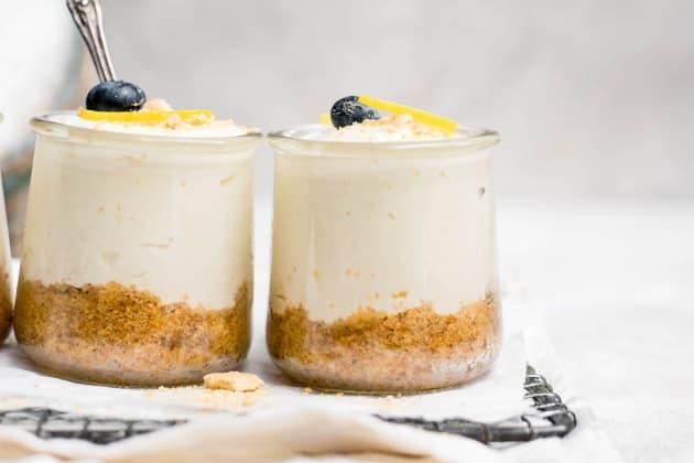No Bake Mini Lemon Cheesecakes Photo