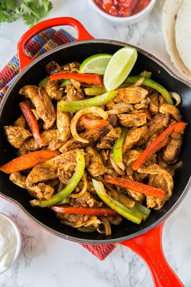 Easy Chicken Fajitas Pic