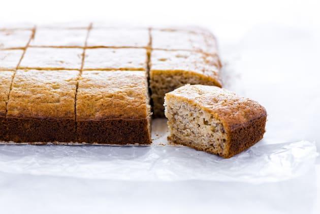 Gluten Free Banana Bread Bars