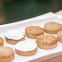 Mantecados And Polvorones Typical Spanish Christmas Cookies
