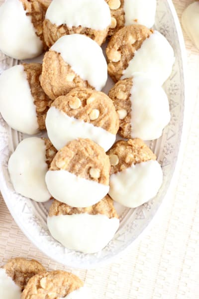White Chocolate Peanut Butter Cookies Picture