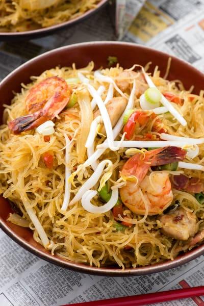 Singapore Street Noodles Image
