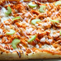 Buffalo Chicken Puff Pastry Pizza Recipe