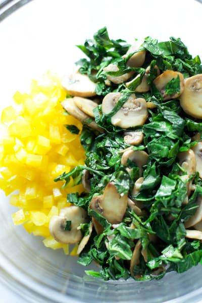 Kalamata Collard Quinoa Salad Process3