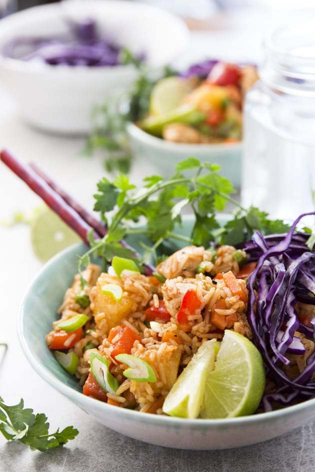 Hawaiian BBQ Chicken Fried Rice Image