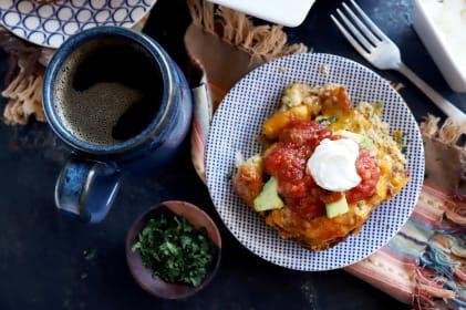 Mexican Breakfast Biscuit Bake Recipe