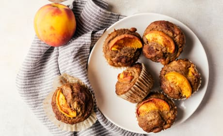 Peach Cinnamon Muffins Recipe