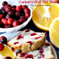 Cranberry Fruit Nut Bread