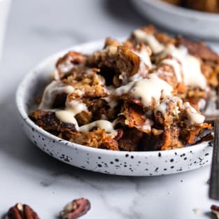 Carrot cake instant pot french toast photo