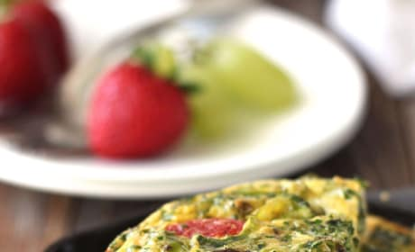 Toaster Oven Frittata Picture