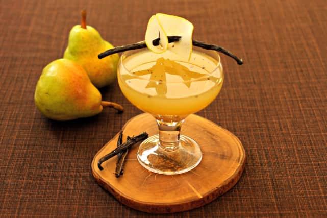 Pear Vanilla Martini Recipe