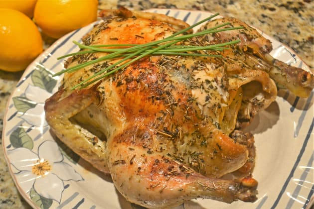 Lemon Rosemary Roast Chicken Photo