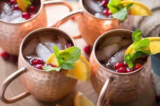 Cranberry Orange Moscow Mule Photo