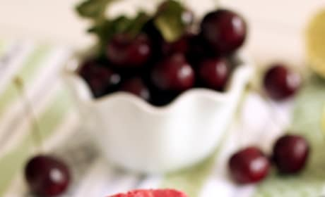 Cherry Lime Popsicles Picture