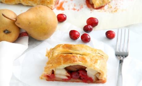 Cranberry Pear Strudel Photo