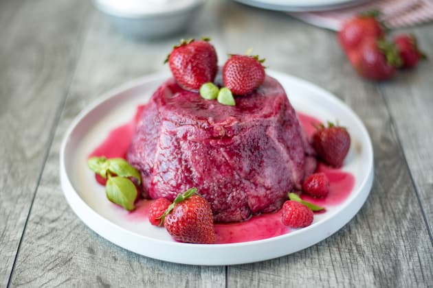 English Summer Pudding Photo