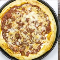 Cast Iron Deep Dish Pizza Recipe
