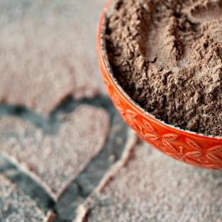 Homemade hot cocoa mix photo