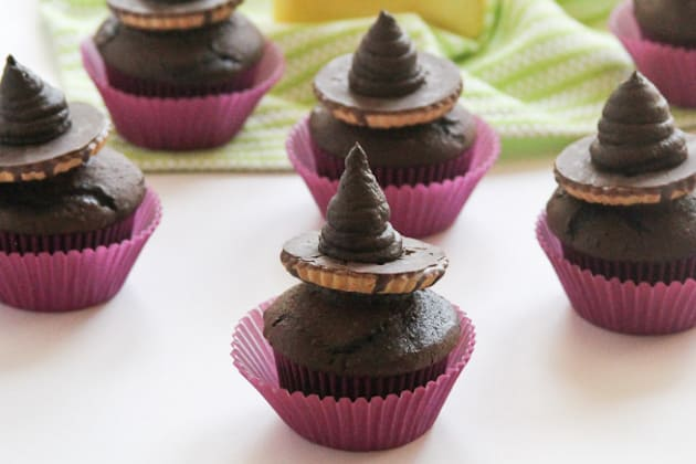 Witch Hat Cupcakes Photo