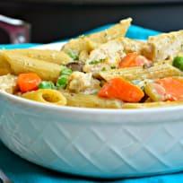 Chicken Pot Pie Pasta Recipe