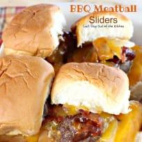 BBQ Meatball Sliders