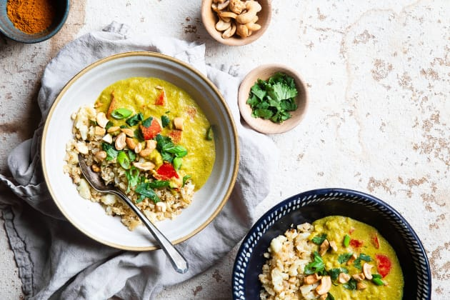 Instant Pot Tahini Cashew Curry Photo