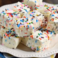 Cake Batter Fudge Recipe