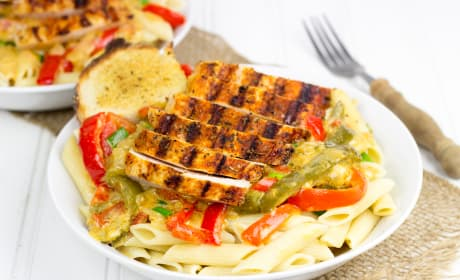 Blackened Chicken Pasta Recipe