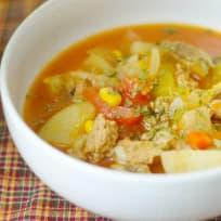 Gluten Free Instant Pot Vegetable Soup Recipe