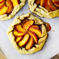 Bourbon Peach Galette Recipe