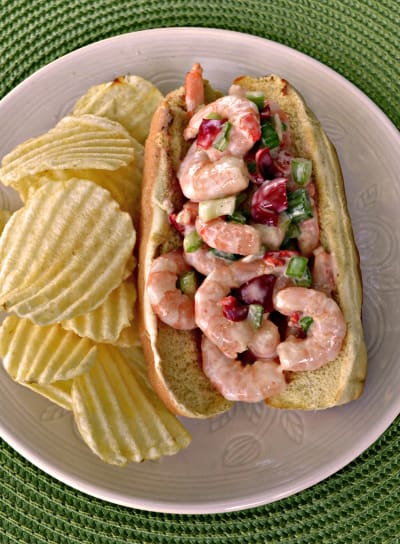 Shrimp Salad Sandwich Picture