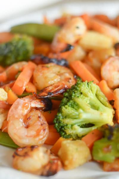 File 3 Gluten Free Air Fryer Honey Garlic Shrimp