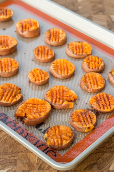 Smashed Sweet Potatoes Image