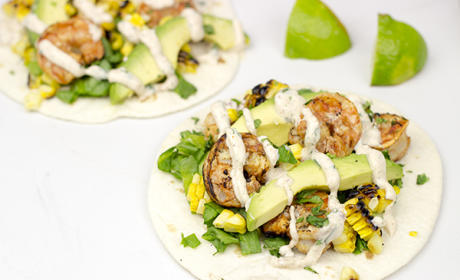 Southwest Shrimp Tacos Recipe